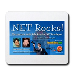 .Net Rocks Mousemat